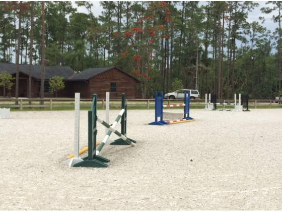 New jumping arena