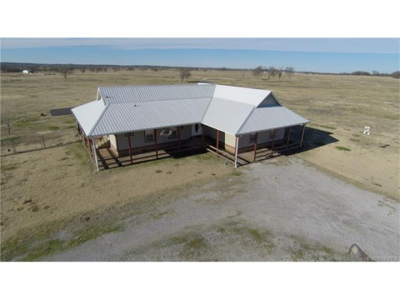 50 Acre Cattle/Horse Farm in Mounds, Oklahoma