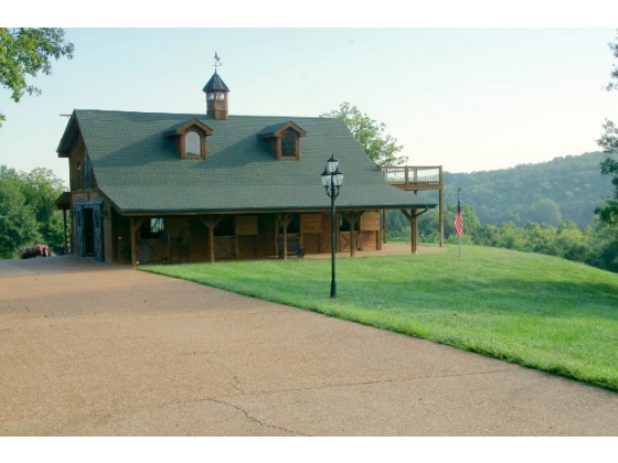 Luxury 150 +/- Acre Gated Equestrian Estate Located in Robertsville MO