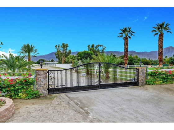 Equestrian Estate Near Palm Springs