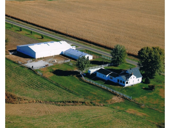 Turn-Key Horse Boarding Facility on 28 Acres! Avon, IL