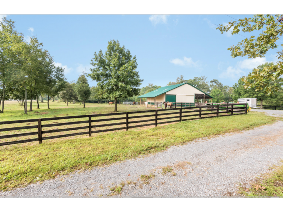 Beautiful Private Horse Farm for Sale