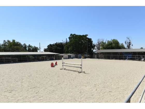 100 x 200 All-sand Footing Horse Arena