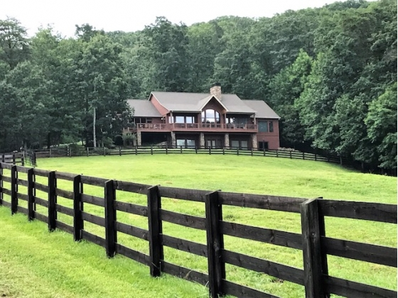 18 Acre Equestrian Estate in the North Georgia Mountains