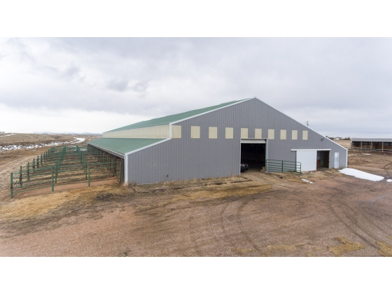 Horse Boarding Facilty and Indoor Arena in Laramie, Wyoming