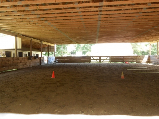 Covered Riding Arena 60 x 80