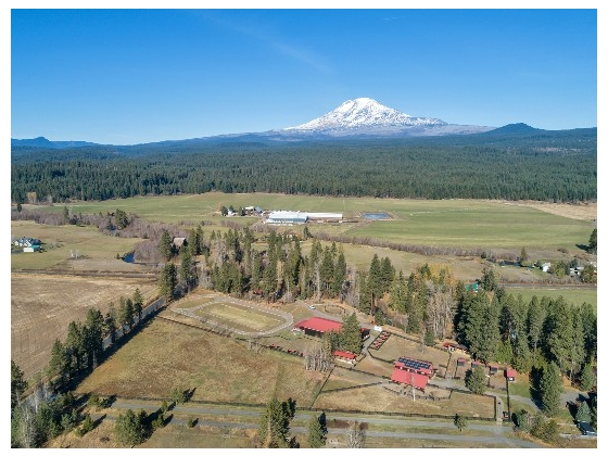 Riverfront Equestrian Retreat, among the majestic foothills of Mt. Adams