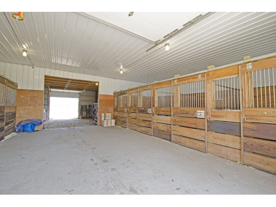 Built In Horse Stables