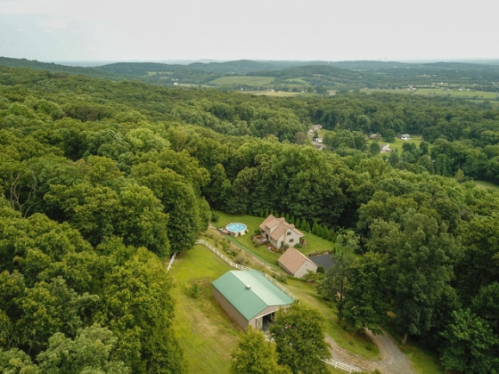 VERY PRIVATE 11+ Acre Horse Farm
