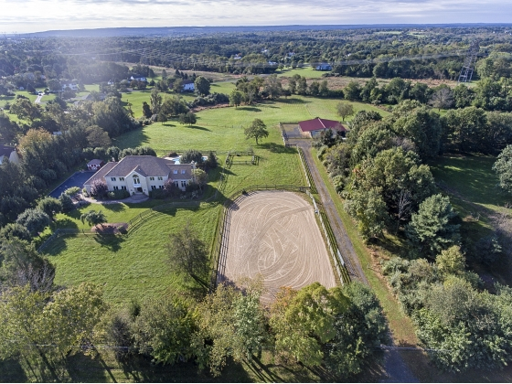 TurnKey Equestrian Property in Readington Township, Hunterdon County, New Jersey
