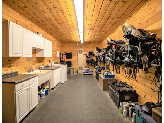 What a tack room!