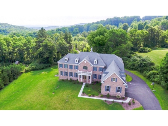 COUNTRY ESTATE ON 42 ACRES  WITH BARN, STONE HOUSE AND MORE..AT THE PRESERVE IN CLINTON TWP.