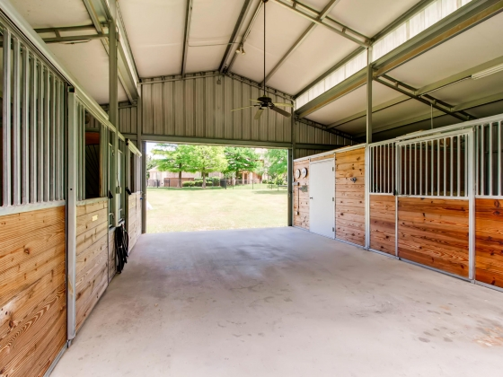 Barn is ideally situated for easy access to house!