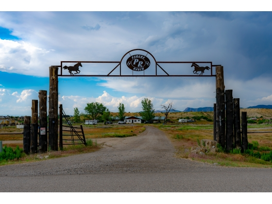 Home of Pahgre Ranch, a horse boarding property in Western Colorado.