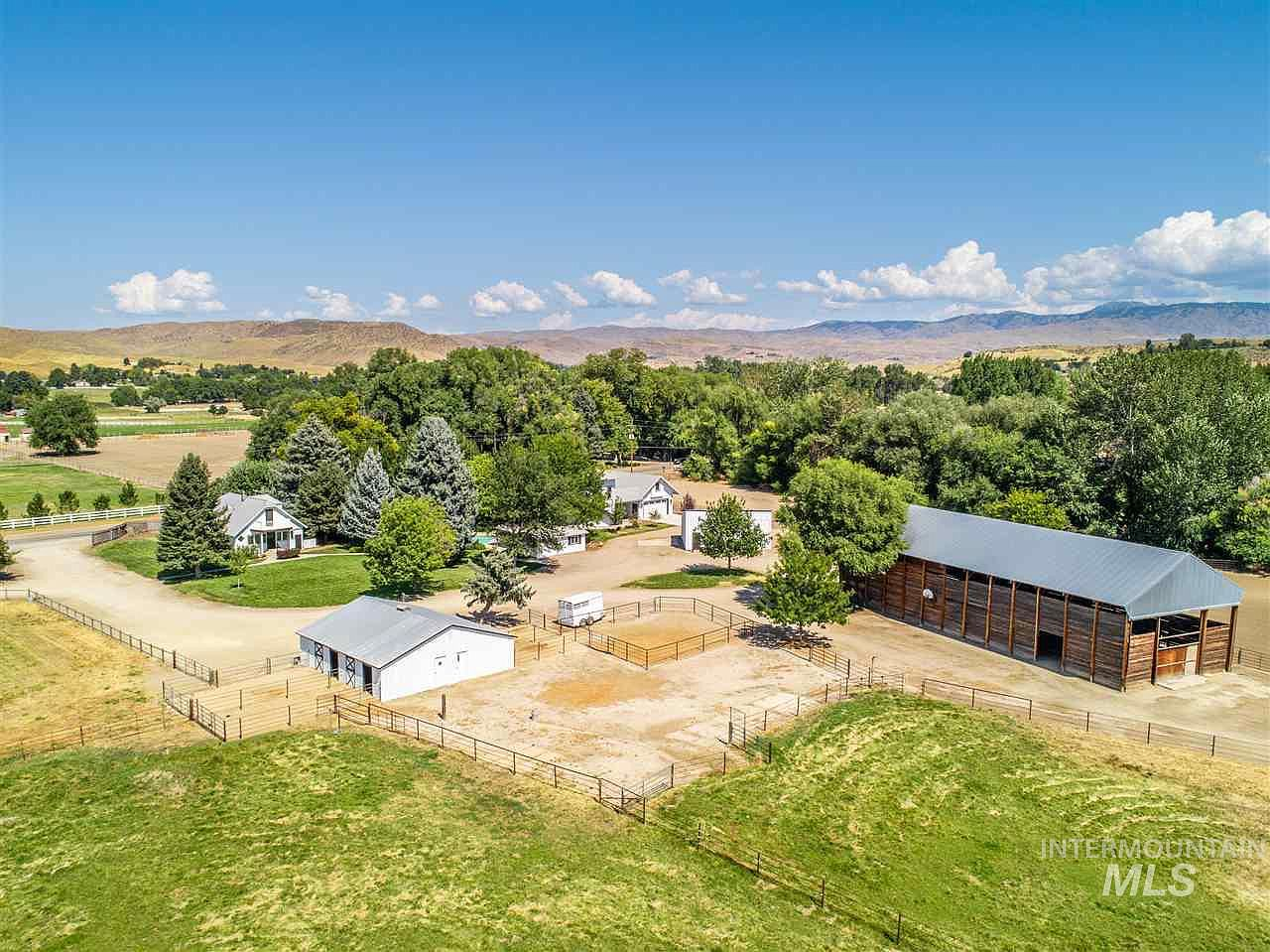 HUGE PRICE REDUCTION!! Peaceful 7+ Acre Equestrian Ranch in Highly Sought Out Location in Eagle, Idaho