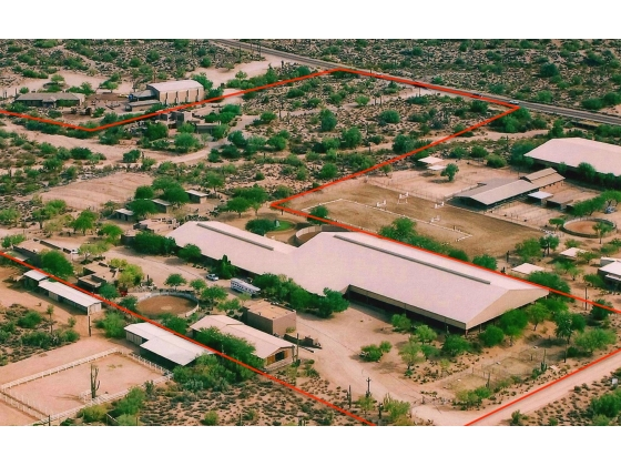 Scottsdale, AZ - 20 Acre Elite Equestrian Training Facility