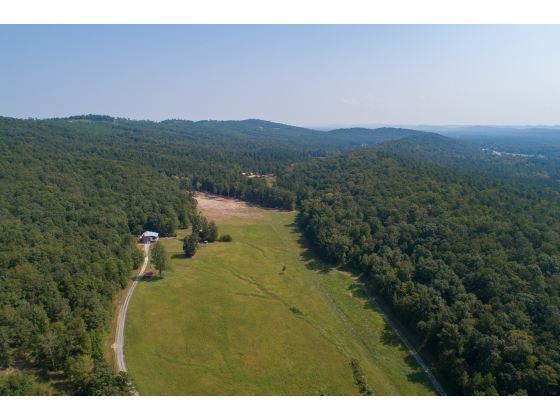 ONLINE AUCTION - 15 Scenic Acres with Brick Home