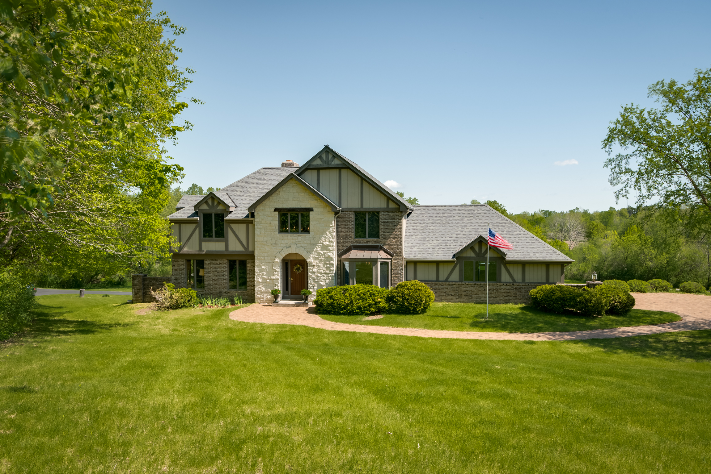 A River Runs Thru These 31 acres plus Custom Home ready for you to Create your Dream Horse Property