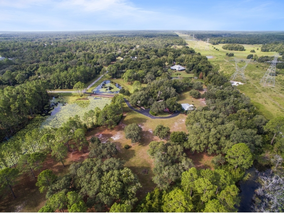 Nearly 15 acres in a Fly-IN Community near World Equestrian Center In Ocala