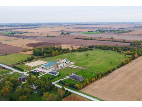 40 Acre Equestrian Estate - 2 homes and 2 barns