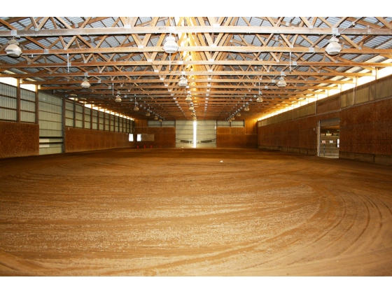 20 Acre Equestrian Property with 30 Stalls and Indoor