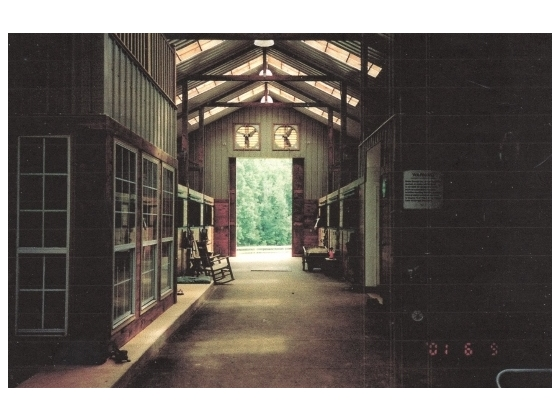 Barn Aisle w/ Apartment Windows