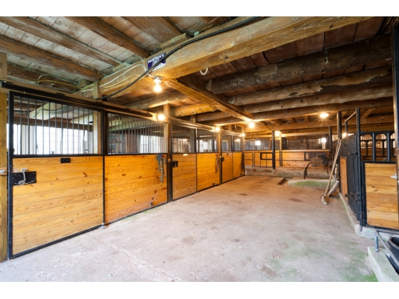 8 Beautiful Horse Stalls
