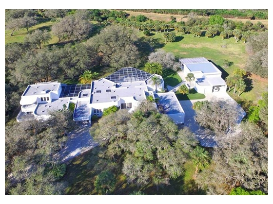 Private 12.18 Acre County Estate
