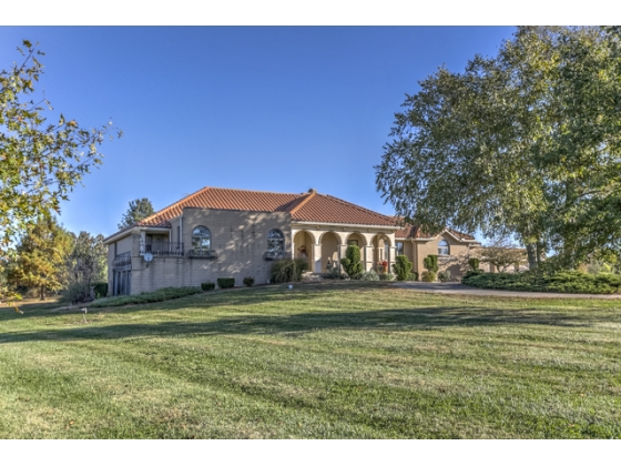 SOLD!!!!  Stunning Mediterranean Home on Picturesque 40 Acres