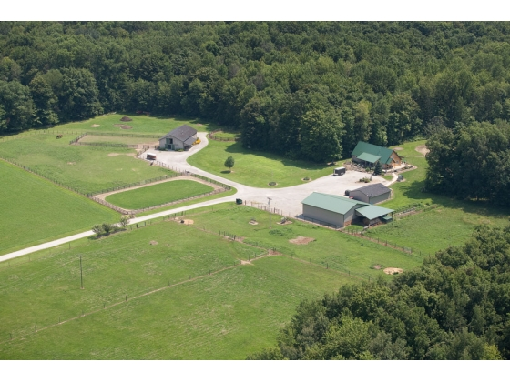 45 Acre Horse Farm with House